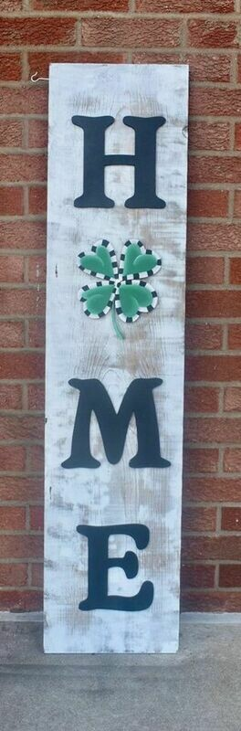 St. Patrick's Porch Board Attachment Only