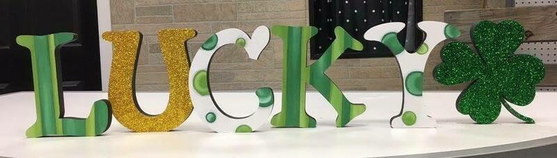 St. Patrick's Day Shelf Sitters