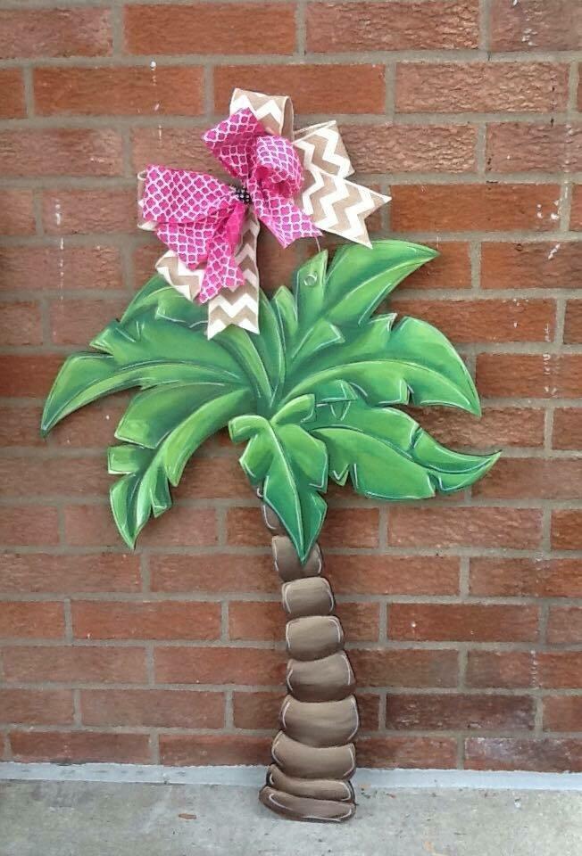 Palm Tree Door Hanger