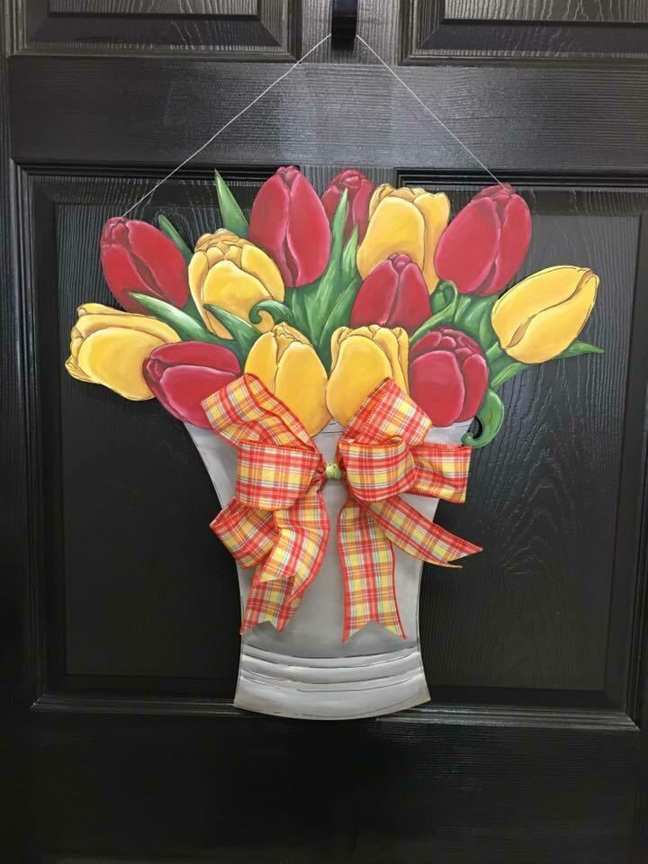 Flower Door Hanger