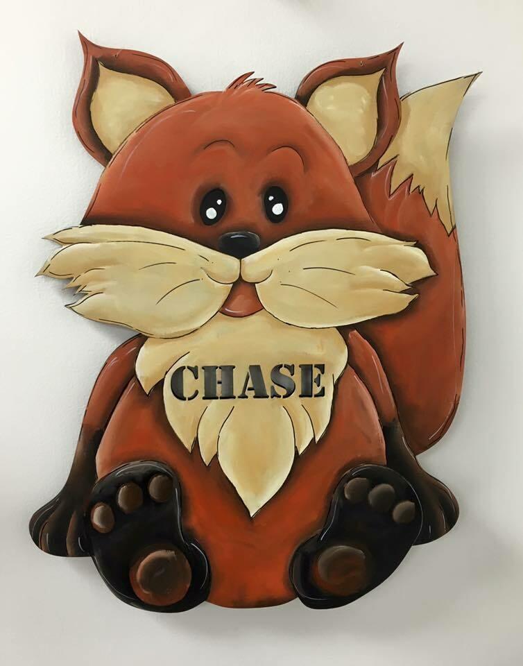 Fox Door Hanger
