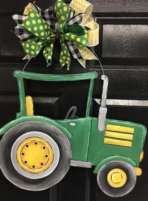 Tractor Door Hanger Cutout