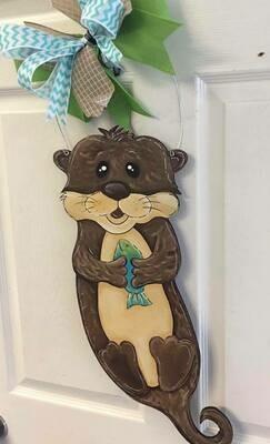 Otter Door Hanger