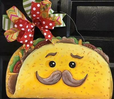 Taco Door Hanger
