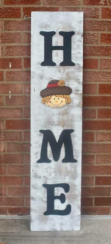 Fall Porch Board Insert Only
