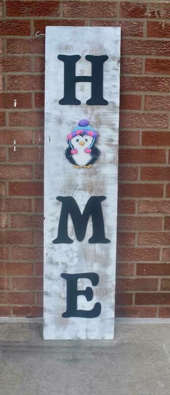 Winter/Christmas Porch Board