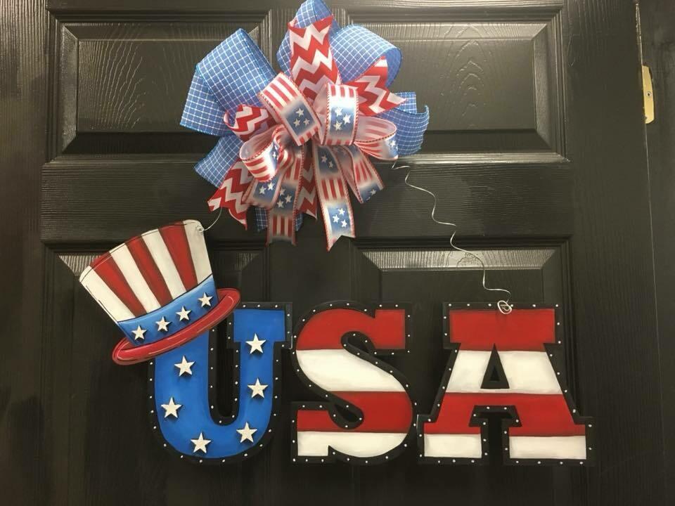 """""""USA"""" Door Hanger"""