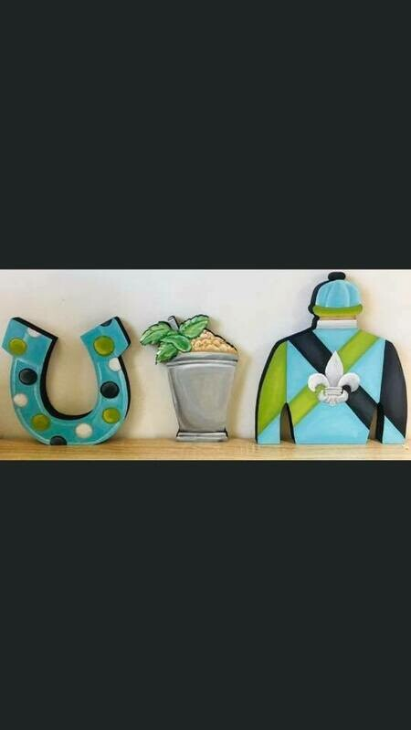 DIY derby shelf sitters set