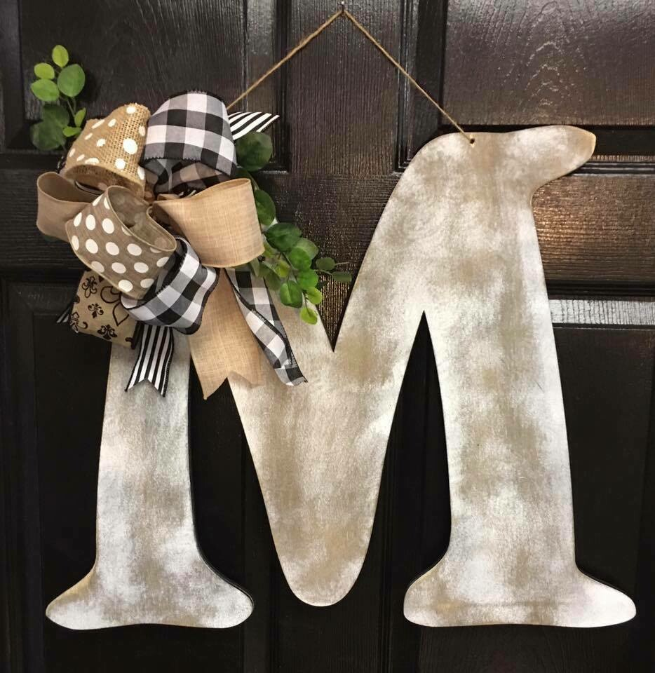 Distressed Initial Hanger