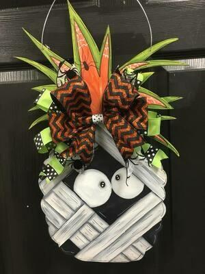 Mummy Pineapple Door Hanger