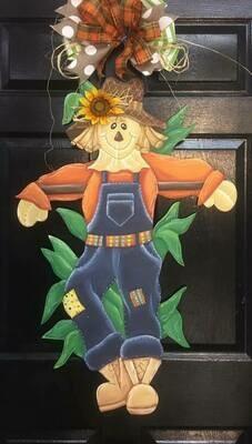 Standing Scarecrow Door Hanger