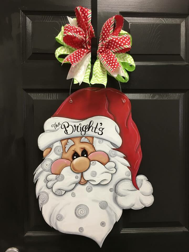"""HO HO HO"" Santa Door Hanger"