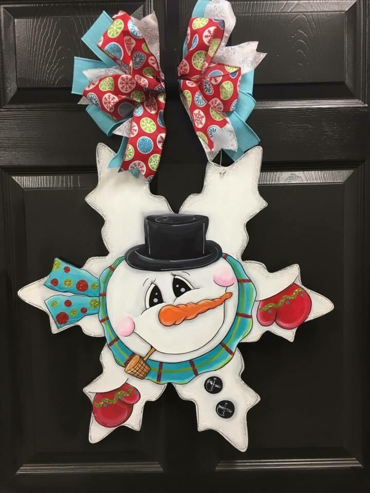 Snowman in a Snowflake