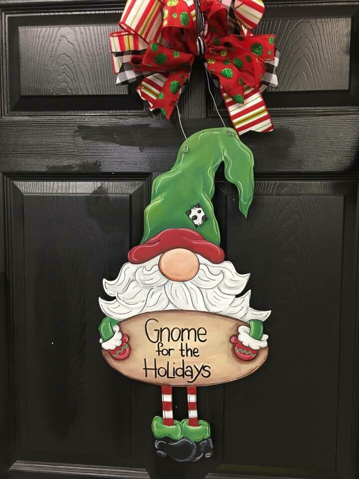 Gnome for the Holidays Doorhanger