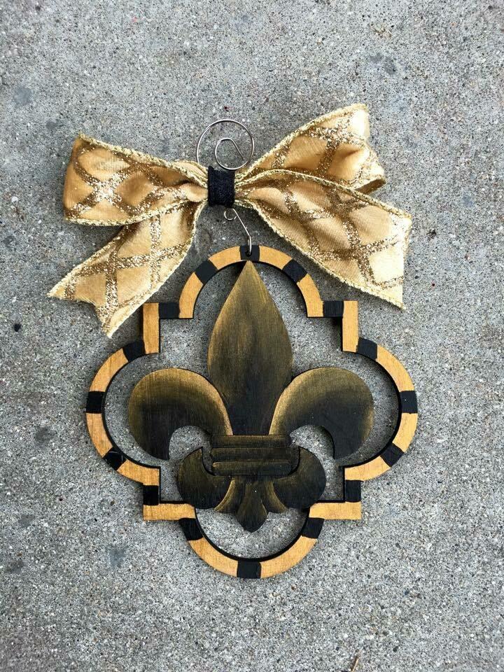 FDL Quatrefoil Ornament