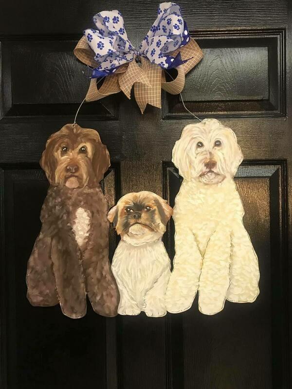 Triple Dog Door Hanger