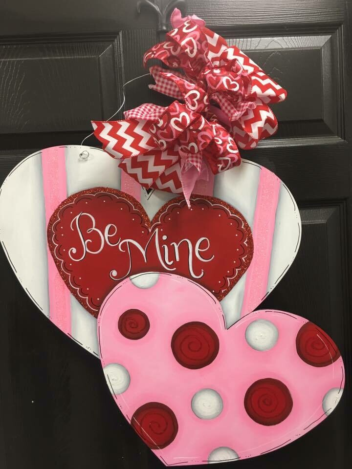 DIY Double Valentines Heart
