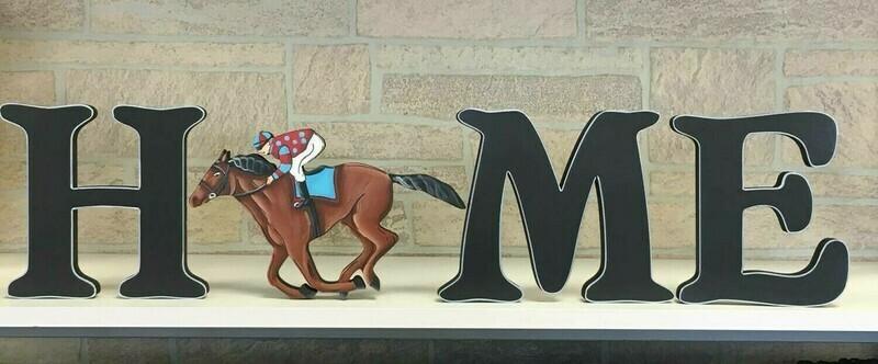 DERBY Horse and Jockey