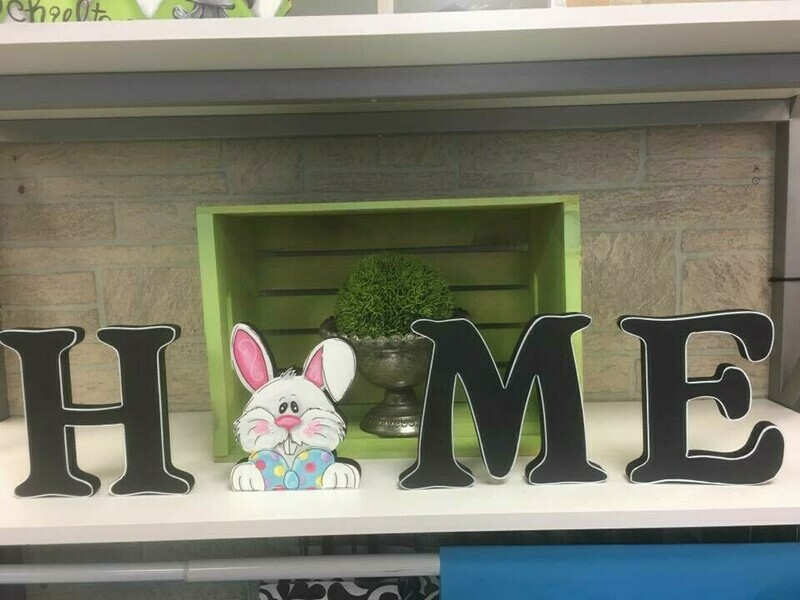 Easter Bunny Shelf Sitter Insert Only