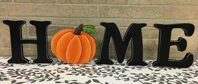 Pumpkin HOME shelf sitter set