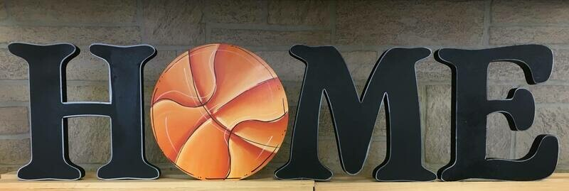 Basketball Home Insert Only