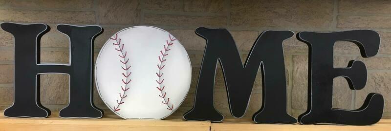 Baseball Home Shelf Sitter
