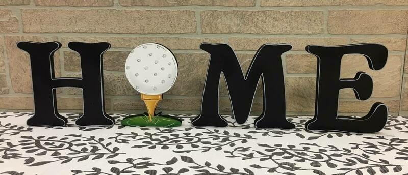 Golf Home Shelf Sitter