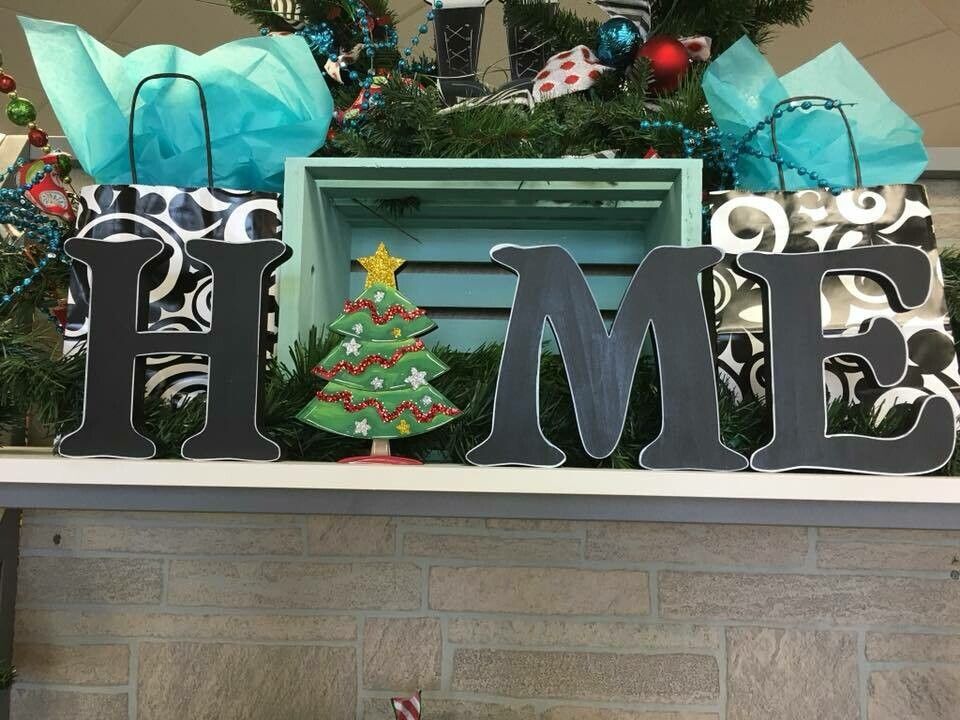 Christmas Tree Home Shelf Sitter