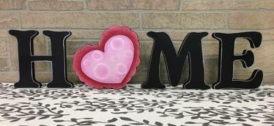 Valentines Heart Home Shelf Sitter