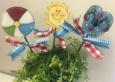 Summer Flower Pot Stakes