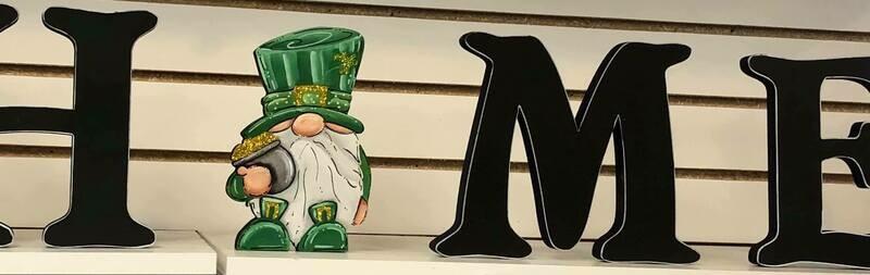 St. Patrick's Day Gnome Shelf Sitter Insert Only