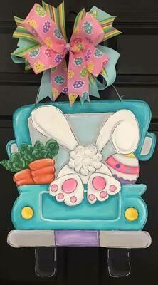 DIY Easter Bunny Truck