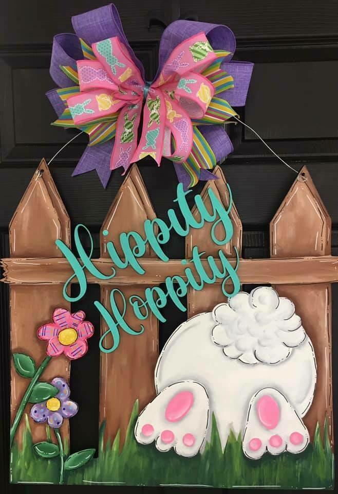 DIY Hippity Hoppity Fence
