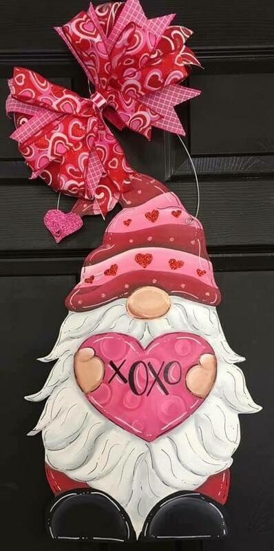 DIY Valentine Gnome