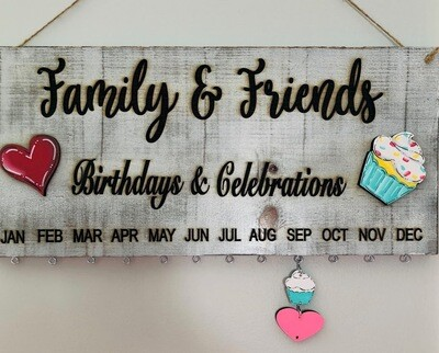 Family & Friends Birthday/Celebrations Decor