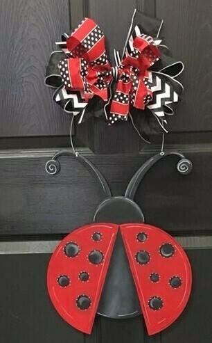 Ladybug Door Hanger