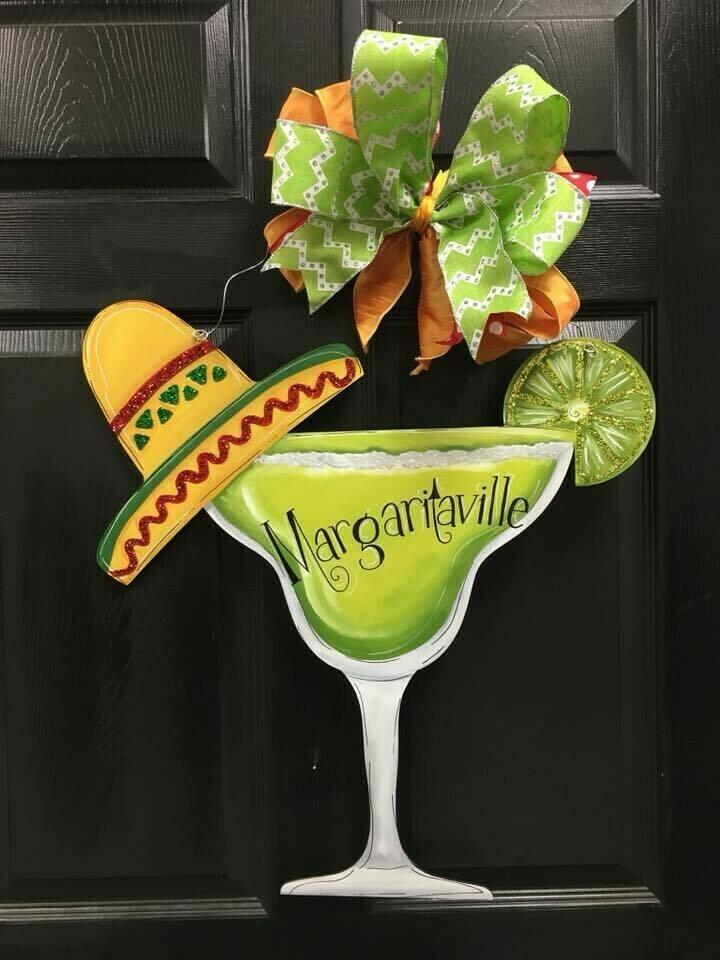Margarita Drink Door Hangers