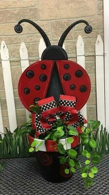 Ladybug Flower pot