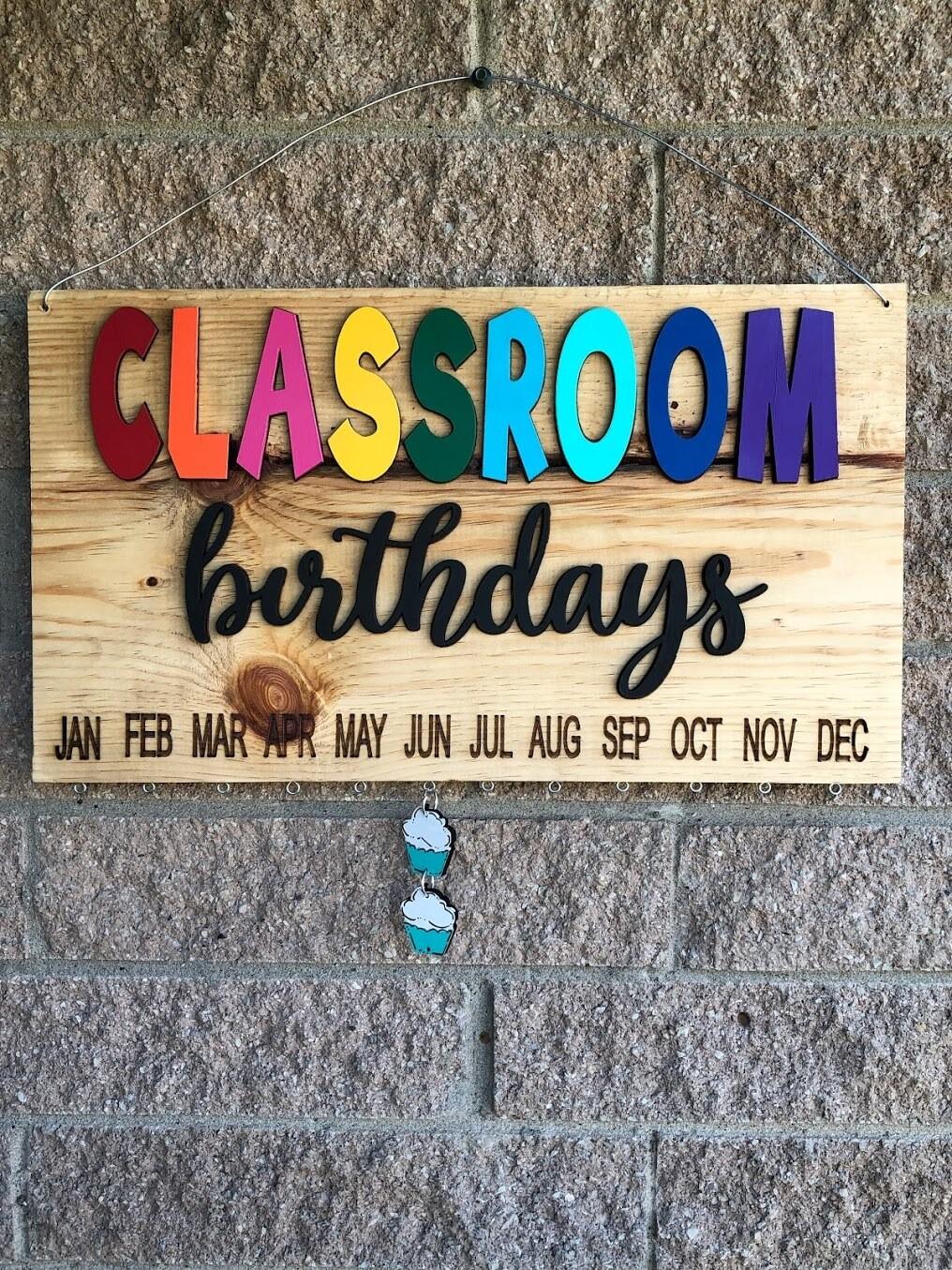 Birthday Board Paint Class