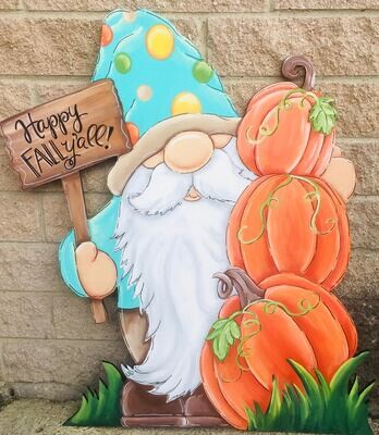 Fall Gnome Stand