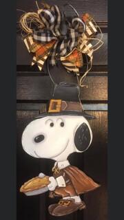 Snoopy Pilgrim Door Hanger Paint Class