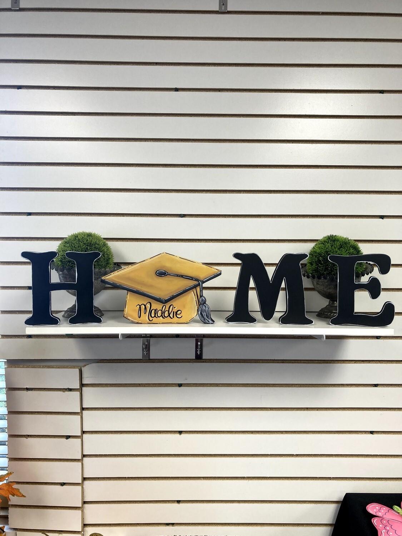 Graduation Cap Home Shelf Sitter Set