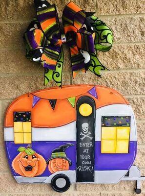 Halloween Camper Door Hanger