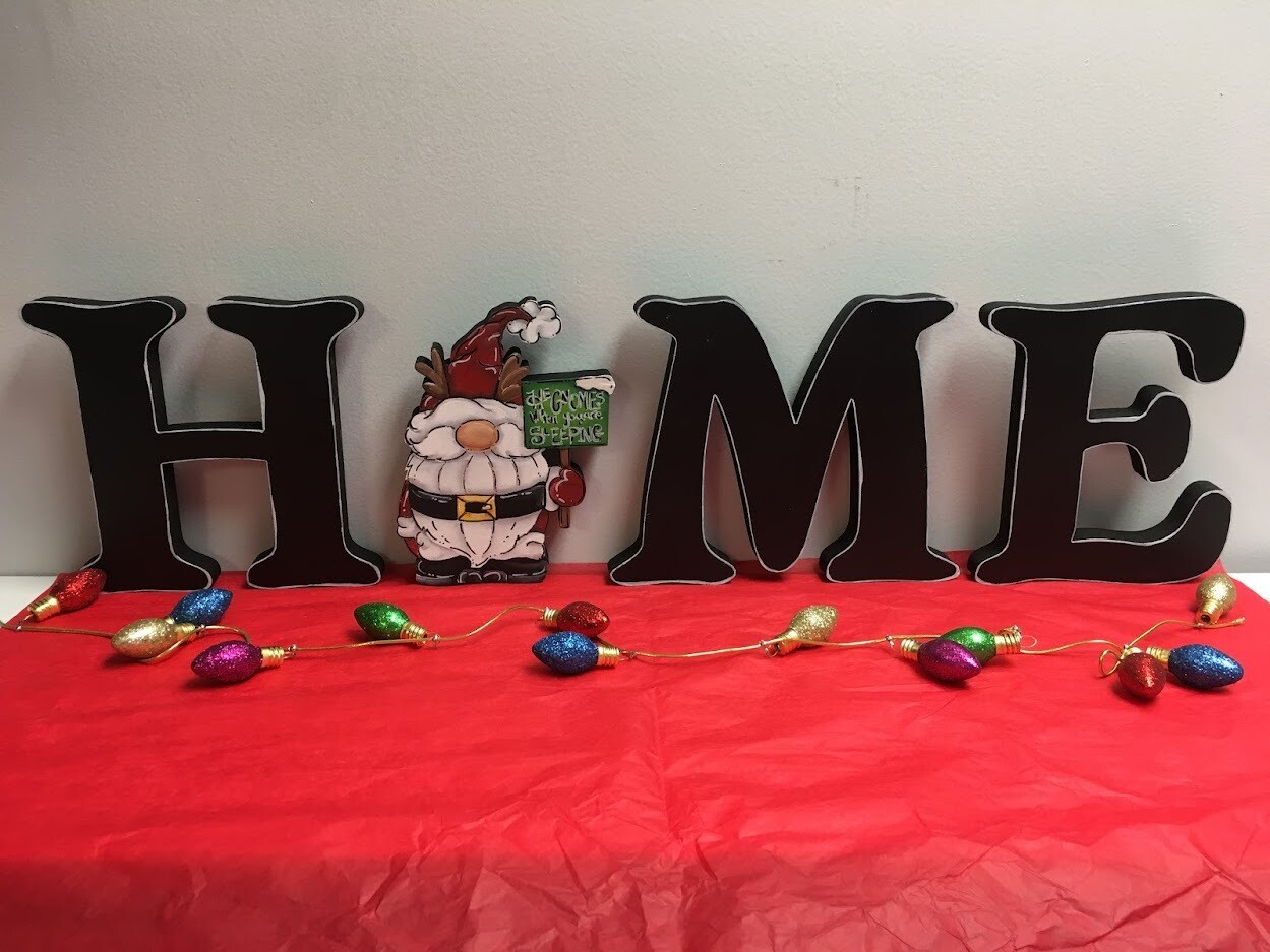 Reindeer Gnome Home Shelf Sitter