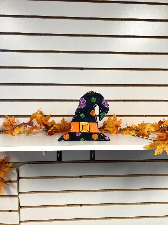 Witch Hat shelf sitter