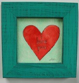 i love you heart original a2n2koon 5x5