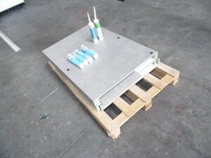 Kit pour escalier droit, T63