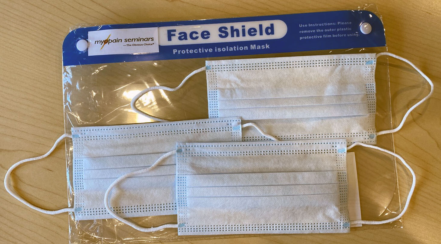 Face Shield and Face Masks