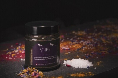 Fleur de sel aromatique, Pré Fleuri, Bio