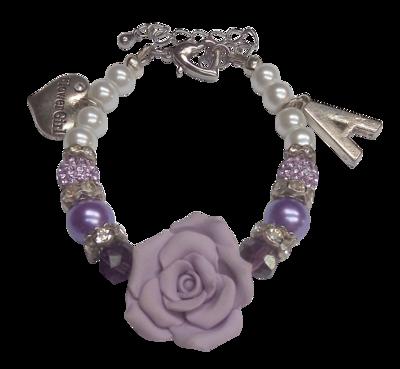 Luxe Flower Girl Bracelet